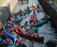 DESCENTE DU CANAL DE LA GUILLOU A TUILIERES